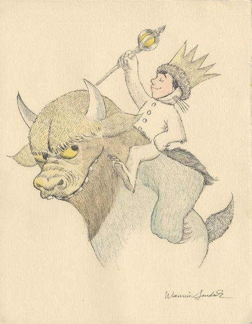 xiaolong2:  Maurice Sendak Tribute Exhibition