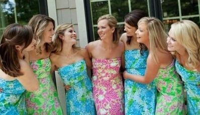 WEDDING WEDNESDAY lilly bridesmaids are a MUST