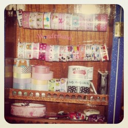 #craft #tape #decotape #washi #scrapbook #journal #smash #smashbook #kawaii # (Scattata con Instagram)