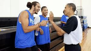 Yo the prez has more rings than Lebrick!