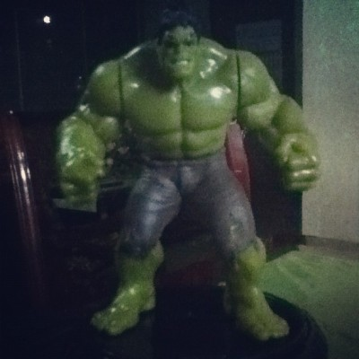 #theincrediblehulk #myfavoriteavenger thanks @ramsrockz for this!☺ (Taken with Instagram at Petron)