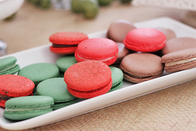 macarons by pearled on Flickr.