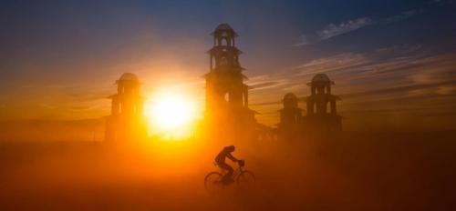 julianjohnsson:  Dust storm over Burning Man