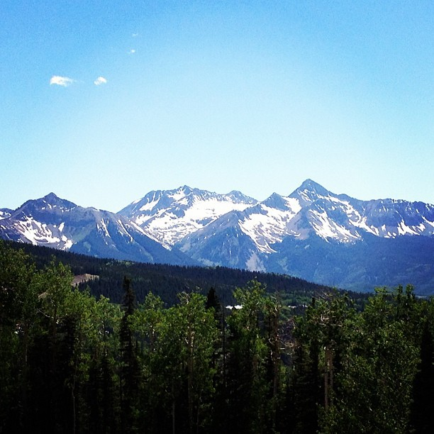 Telluride is beautiful…makes me want to move west. (Taken with Instagram)