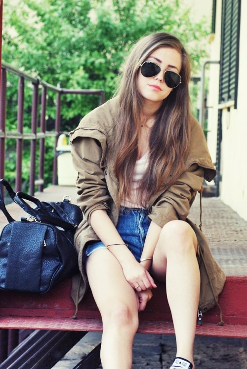 lookbookdotnu:  Parka (by Kasia Gorol)