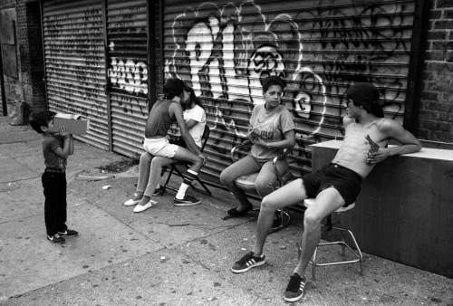 Pilo Wall — The Bronx © Stephen Shames