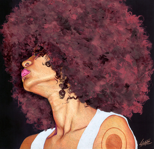 fortheloveofmyfro:   Fierce 'Fro