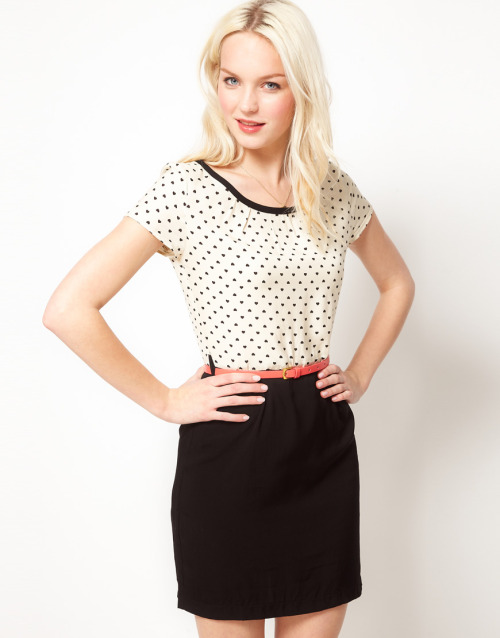 Mango 2 In 1 Polka Dot DressMore photos & another fashion brands: bit.ly/JgOCdV