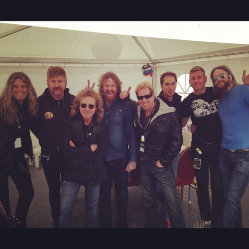 Mastodon and Night Ranger together at last!! - @creamale- #webstagram