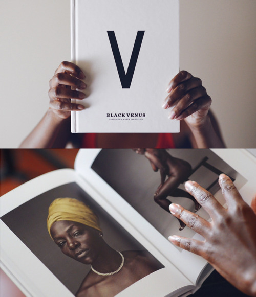Black Venus, Vol. 1 — A collection of figure portraits celebrating the black female, represented by extraordinary everyday women from around the world. Learn more: http://blackvenusproject.com/book