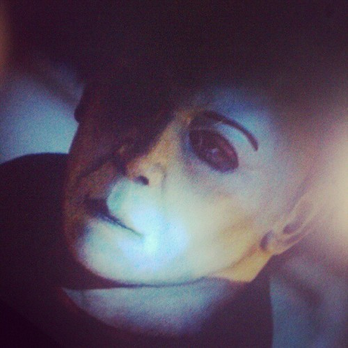 Netflix ; Halloween ; Michael myers (Taken with Instagram)