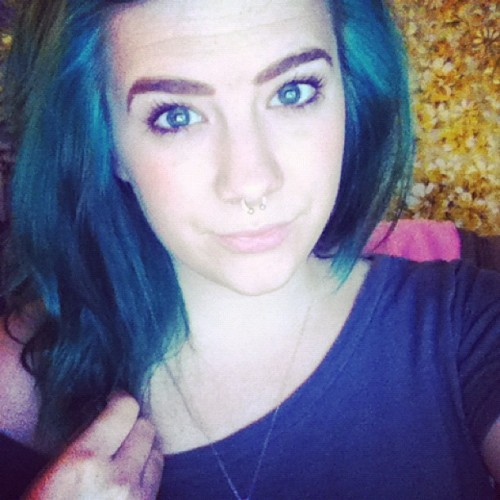 Blue hurr, blue eyez (Taken with Instagram)