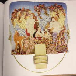My favorite Fendi Baguette from the massive new Baguette book. MS (Taken with Instagram)