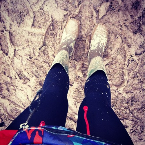 Happy #download #mud #hell #wellies (Taken with Instagram)