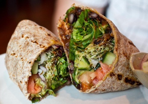 thefitty:  veg-life:  Spicy potato and black bean burritos. (vegan) Recipe!  (via imgTumble)