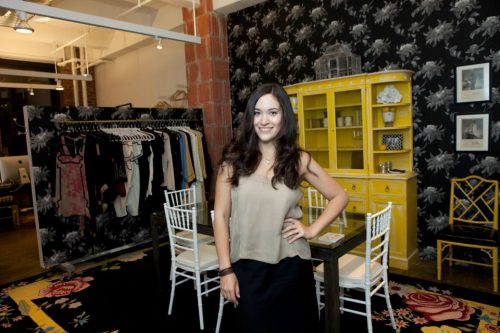the lovely lingerie designer Arielle Shapiro of ARI DEIN