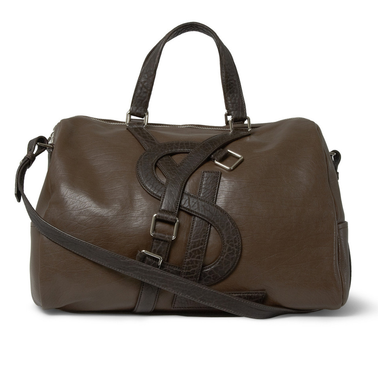 Our pick of this week's new arrivals? This holdall from YSL. Lugging your day's load never looked so good