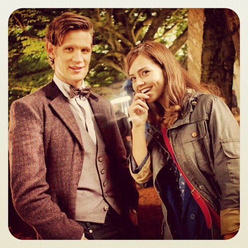 Series 7! Can't wait to be done with Rory and Amy… #DoctorWho #NewCompanion (Taken with Instagram)