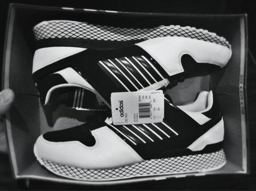 My adidas ZXZ ADV came in the mail. Too fresh. Seriously, they're too damn fresh, I'm never gonna wear them.