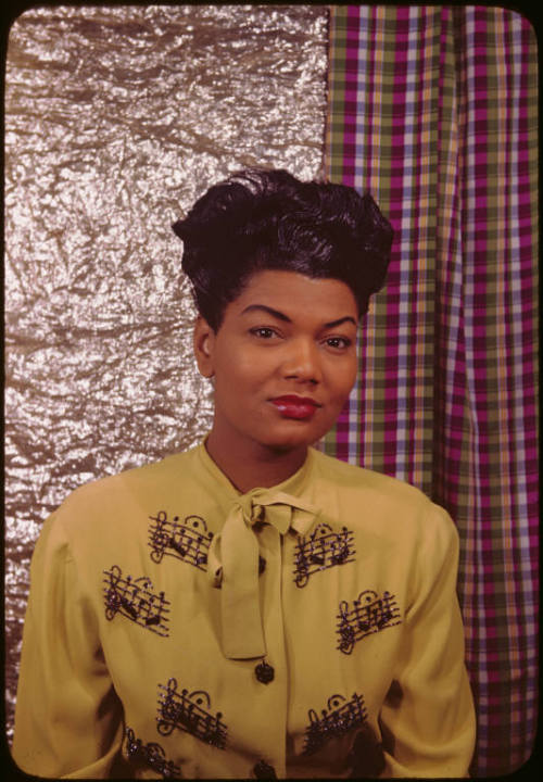 "Pearl Bailey photographed by Carl Van Vechten in 1946. Did you know that Ms. Bailey earned a B.A. in Theology from Georgetown University in 1985 at the age of 67? Initially, she majored in French, but she switched to theology ""Because it's easier to know the Lord that it is to know French."" Photo: Beinecke Rare Book and Manuscript Library"