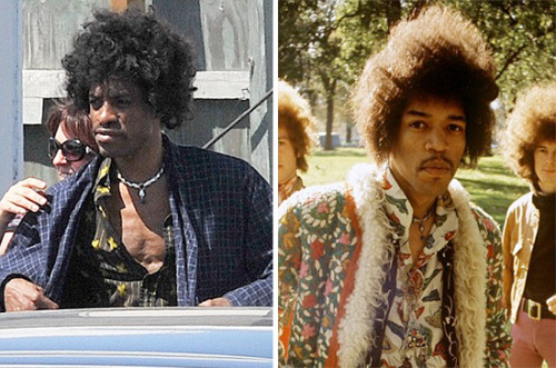 countdowncityconquistador:  clapsandpraises:  godswerepoetsonce:  deroisintheseclouds:  Andre 3000 dressed for his new role as Jimi Hendrix in an upcoming bio film.  mind. blown.  omg tho  If anyone were to do it….