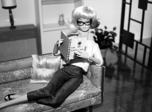 Barbie reads To Catch a Thief