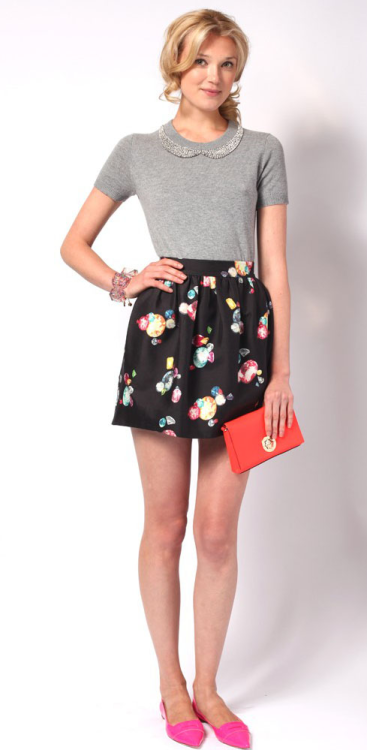 Look 2  Kate Spade Resort 2013