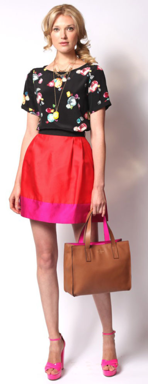 Look 3  Kate Spade Resort 2013