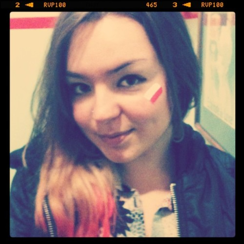 Polska golaaaaa!!!!!!! (Taken with Instagram)