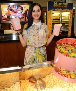 Katy Perry Makes Surprise Appearance At A Special London Screening of Her 3D Feature Film Katy Perry: Part Of Me [PICS]