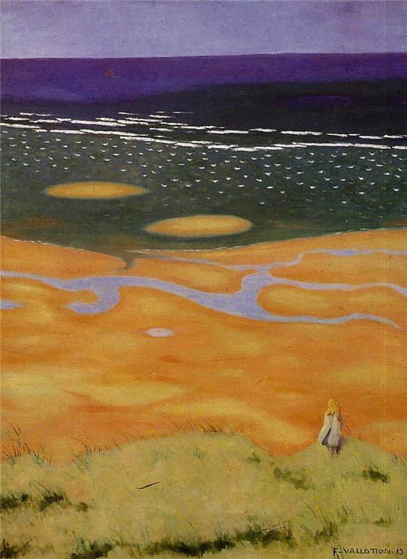 wasbella102:  Felix Vallotton - The Rising Tide
