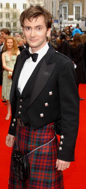 I love the kilt.  I think it's fantastic. Well done, David.