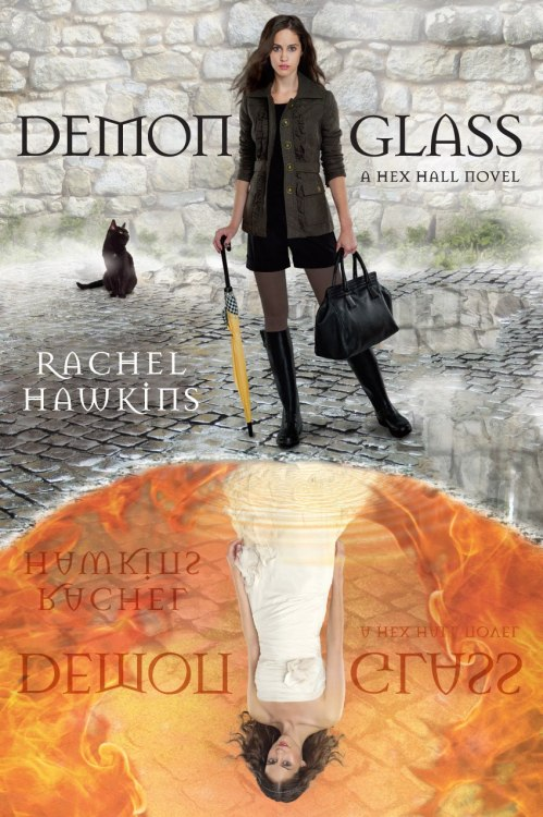 Demonglass (Hex Hall, #2) by Rachel Hawkins My Rating: 4/5 cups of coffee My Review: Okay… I can't breathe, again. Hmm, how do I start it? Hmm.Okay. Where did the excitement from the first book go? The first book was a page turner then the second book was… What?! It's good but it's not amazing just like the first book which is Hex Hall, the characters are the same and everything but I don't know maybe it's kinda slow, for me I guess. And the ending, ohmy! What kind of ending is that? HAHAHA! Well, I gave it 4 stars anyway because I love Sophie and Archer. I mean their love story, it's cute actually. They love each other differently. I will definitely read the third book. I'm inlove with this series. I wish the third book was beautiful as the first one.