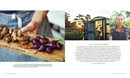 gabherman:  My photo essay on Beetlebung Farm for Martha Stewart Living hit the newsstands this week. I'm really proud of this essay and I love what they did with the layout. This is proof for me and anyone else who is reading, that you should just shoot what you love. A few summers ago, I began hanging around my friend Chris Fischer who happens to be a chef and farmer on the island of Martha's Vineyard. What started as a curiosity, turned into a deep friendship, a fun personal photo project and my first assignment for Martha Stewart. An editor at the magazine had come across some of the photos online and basically hired me that same day. I was sent to an Apple Orchard up in Maine. (That story will run in the September issue.) It was only months later, that I went in to the office in person and brought along a box of prints of the Beetlebung images that the idea for this current story came about.  None of this would have been possible without Chris, so I'd like to thank him for letting me into his world.