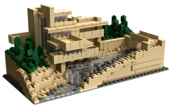 "06/08/12….HAPPY BIRTHDAY FRANK LLOYD WRIGHT!!!!….. & CHECK THIS OUT!!!!….A ""Falling Water"" LEGO set!!!!….WHOA!!!!….MUST….HAVE!!! I have been there 3x….it's an AMAZING PLACE!!!!….:D"