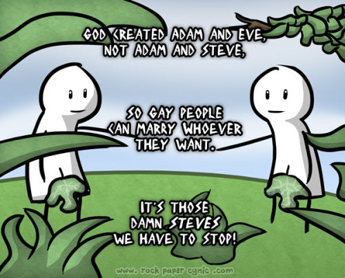 What to Say When Someone Tells You God Didn't Create Adam and Steve