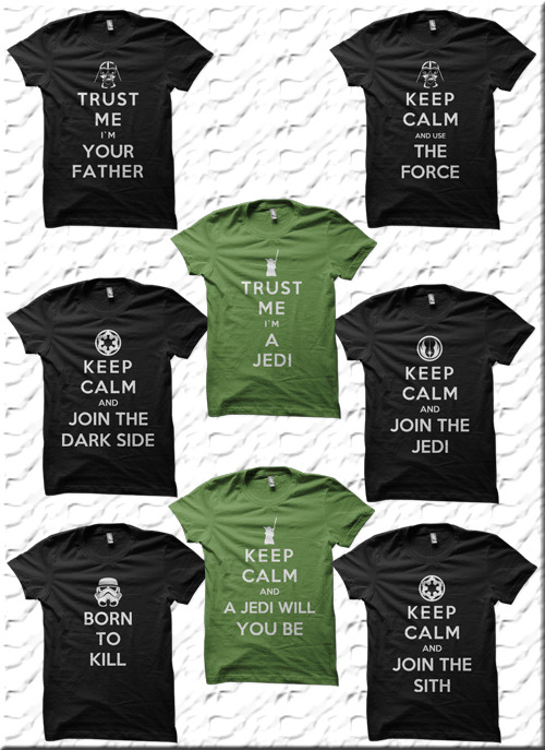 Keep Calm Star Wars Designs - by Royal Bros Art T-Shirts, Posters, Stickers & iPhone Cases available on RedBubble Artist: || Facebook ||Twitter || Tumblr || Othertees || Qwertee ||