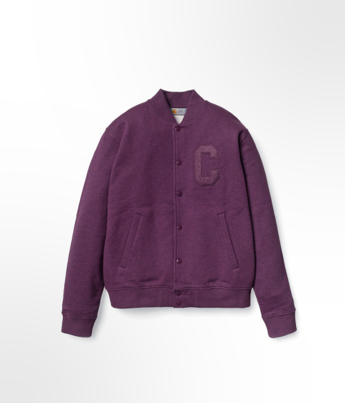 Carhartt Ribbon jacket, Purple heather.