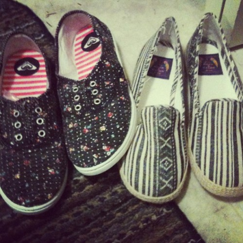 Oh thanks mom #shoes #summer (Taken with Instagram)