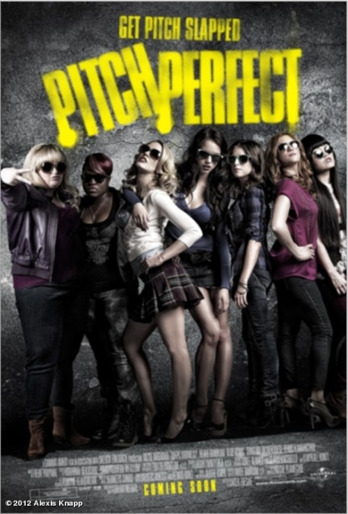 Pitch Perfect Movie Poster The Universal Pictures movie will release on October 5th Official weblink: http://www.pitchperfectmovie.com/