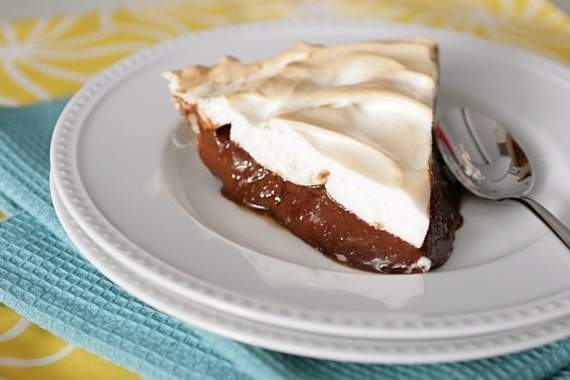 gastrogirl:  the best chocolate pie ever.