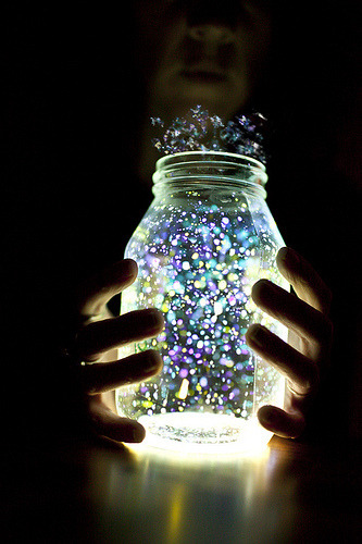 light in a jar <3