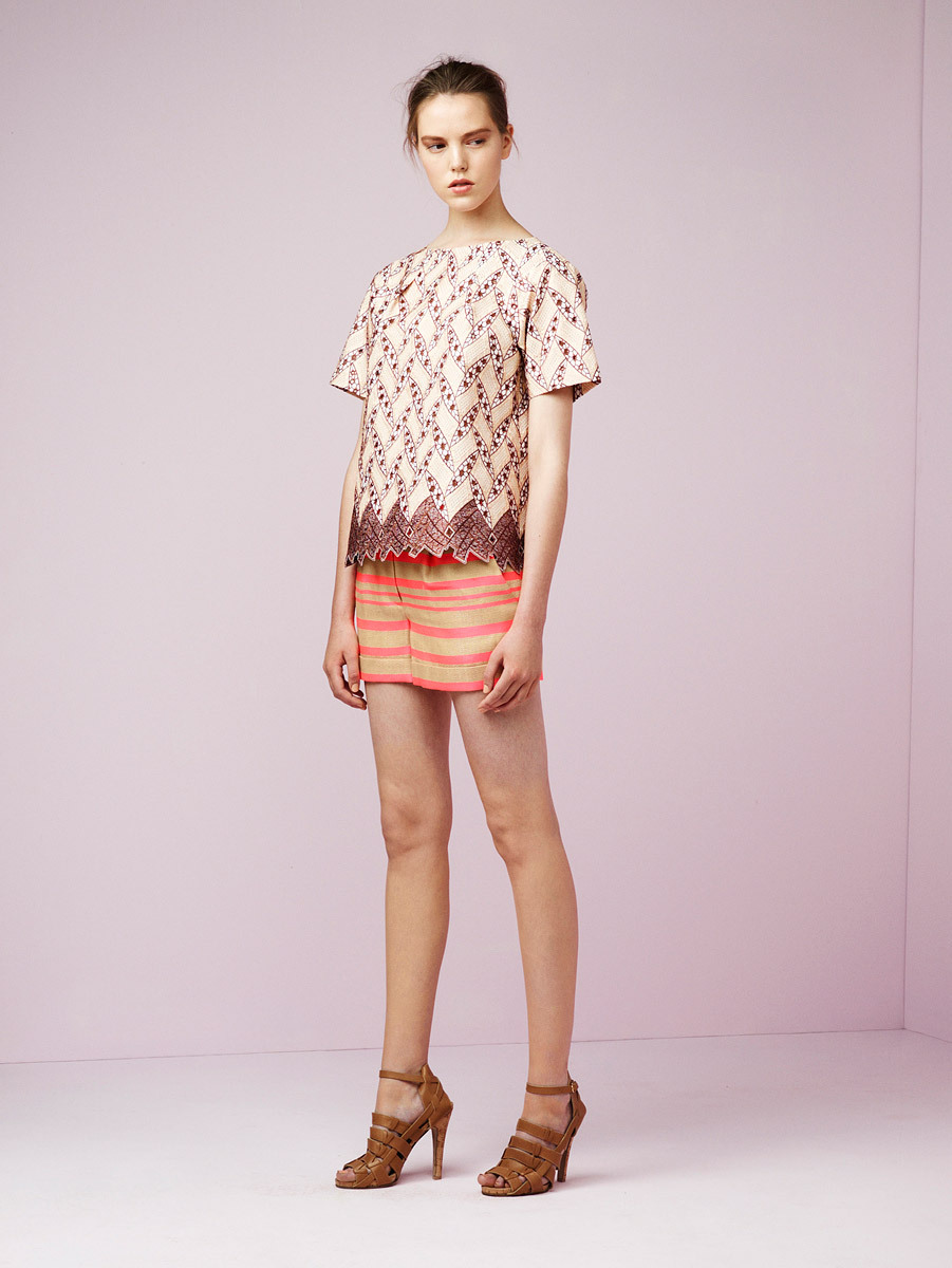 vogue:  Thakoon Resort 2013 Photo: Courtesy of Thakoon