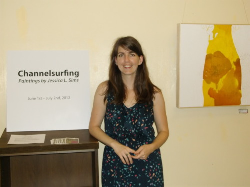 Channelsurfing - on display now through July 2nd at Richmond Public Library….Click here for their hours