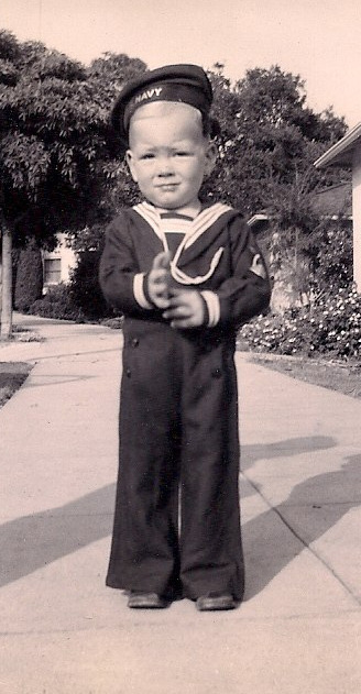 """ Sailor Boy Don on his Second Birthday """