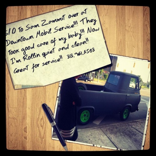 "She's BACK!!!!!! #67ford #econoline  (Taken with Instagram at ""Shades Lab"")"