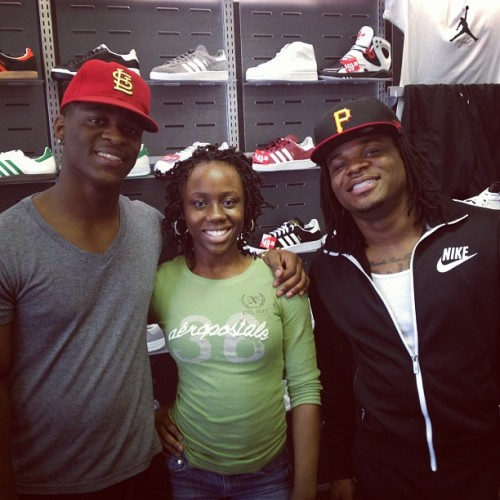 😃 #TeamEPHudson (Taken with Instagram at Athlete's Foot)