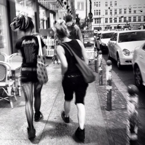Memories of Berlin, street #igersberlin #catinberlin  (Taken with Instagram)