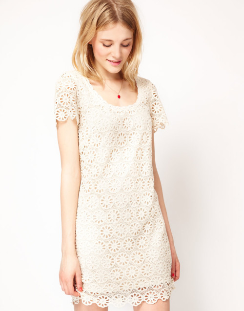French Connection Lace Mini DressMore photos & another fashion brands: bit.ly/Jhf1rW