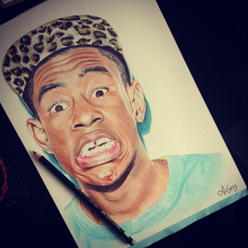 danksunshine:  that's one good ass drawing of this nigga.